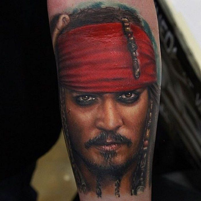 25 best ideas about jack sparrow tattoos on pinterest for Captain jack sparrow tattoo