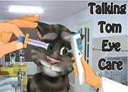 Talking Tom Cat Eye Care