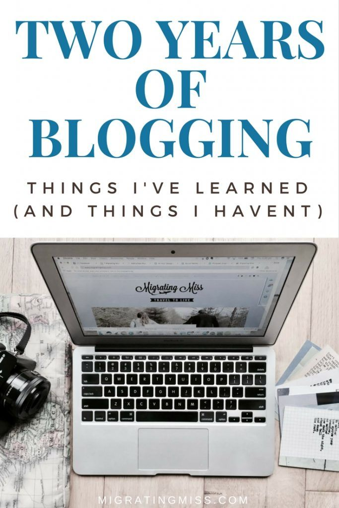 Lessons From Two Years of Blogging #blogging #blog
