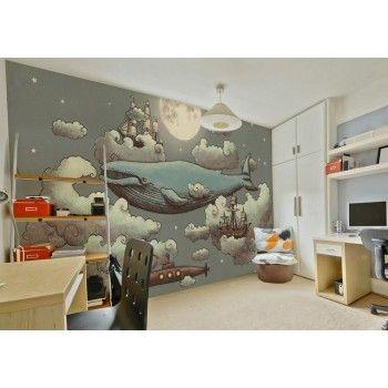 Ocean Meets Sky Wall Mural - Removable Wallpapers, Wallpaper Store Online, Online Murals