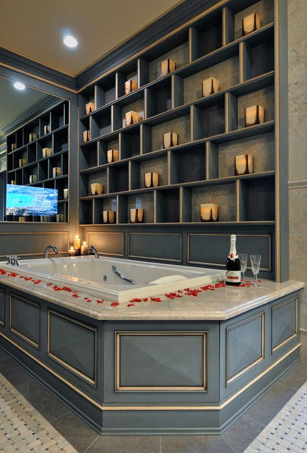 43 Most Fabulous Mood Setting Romantic Bathrooms Ever