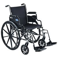 Invacare Tracer SX5 Wheelchair,Each,TRSX5 Price: 270.00 Retail Price: 339.99 TRSX5 Health Products For You INVACARE CORPORATION TRSX5 Exercise & Mobility > Wheelchair > Manual Wheelchairs > Lightweight Chairs