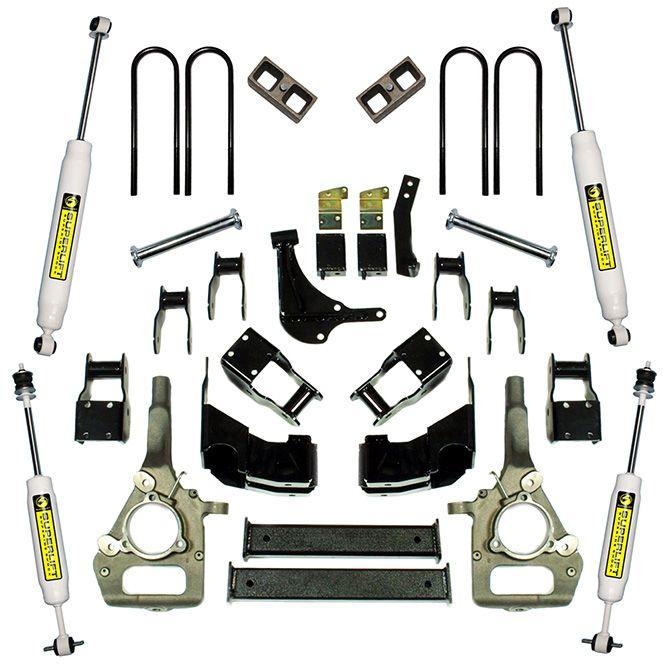 "4"" Ford Suspension Lift Kit - 2000-2010 Ford Ranger 4WD"
