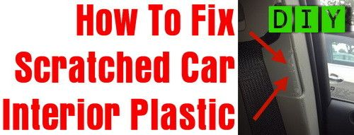 how to take scratches out of plastic
