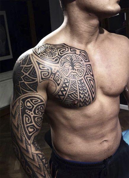 Tribal Sleeve Tattoo Designs for Men