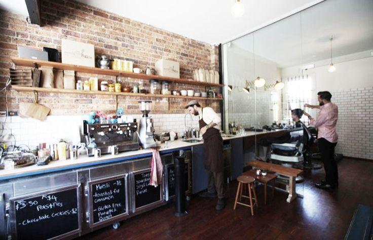 Cleveland's (Salon & Café)  311 Cleveland Street, Redfern, NSW  Tel: +61 (02) 9698 8449