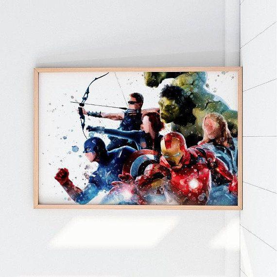 Avengers Printable Avengers Print Avengers Wall Art Avengers Poster Avengers Prints Avengers Printables Avenger Avengers Wall Art Avengers Poster Avengers Logo