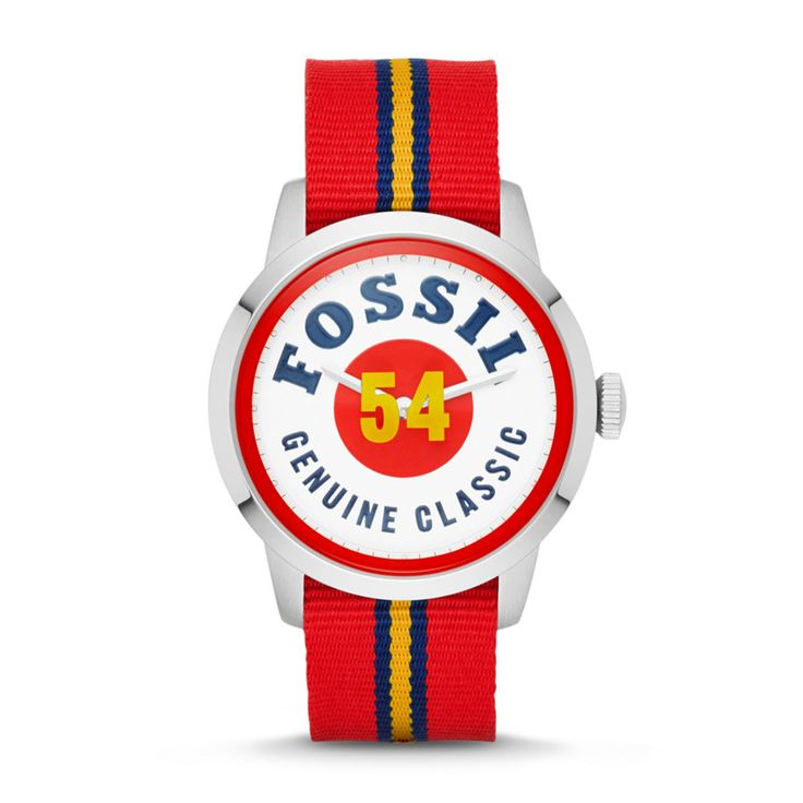 Fossil Townsman Two-Hand Nylon Watch – Striped FS4922 | FOSSIL®