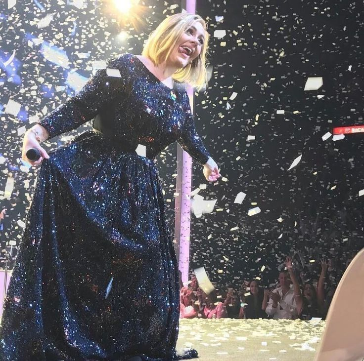 Adele performing at 'American Airlines Arena', Miami, Florida (Oct. 26)