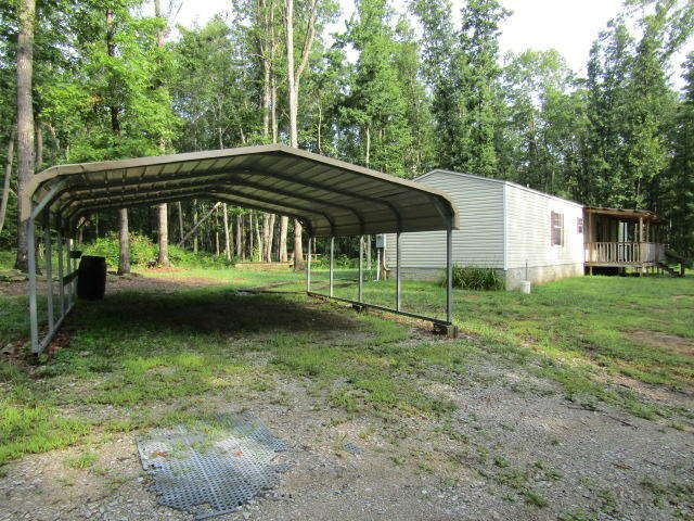 Mobile/Manufactured,Residential, Manufactured   Sparta, TN 16X80  Manufactured On 16+ Wooded Acres, Permanent Block Foundation, Carport,  Storage Shed, ...