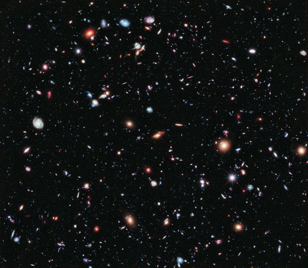 Astronomers using the Hubble Space Telescope have created the deepest multi-color* image of the Universe ever taken: the Hubble Extreme Deep Field, a mind-