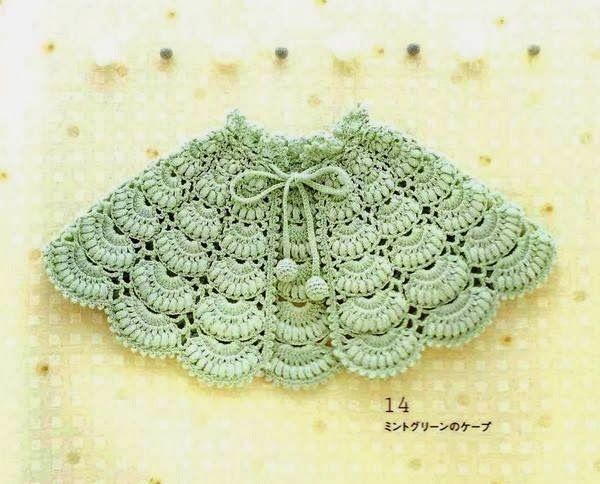Cape pour bébé au crochet | Crochet | Pinterest | Modèles ...