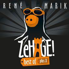René Marik: ZeHage! Best of plus X // 22.06.2016 - 16.05.2017  // 22.06.2016 20:00 BERLIN/Die Wühlmäuse am Theo // 23.06.2016 20:00 BERLIN/Die Wühlmäuse am Theo // 24.06.2016 20:00 BERLIN/Die Wühlmäuse am Theo // 26.07.2016 20:00 SYLT/Meerkabarett Sylt GmbH
