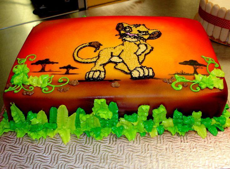 Lion King Cake Images