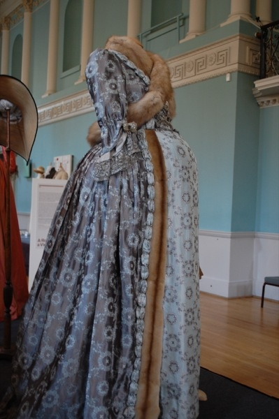 Maternity gown worn by the Duchess of Devonshire
