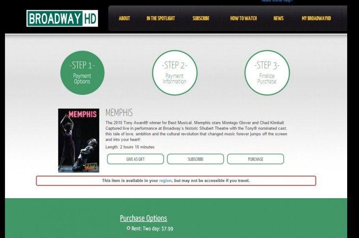 Sabías que Nace BroadwayHD, para ver espectáculos de Broadway por Internet