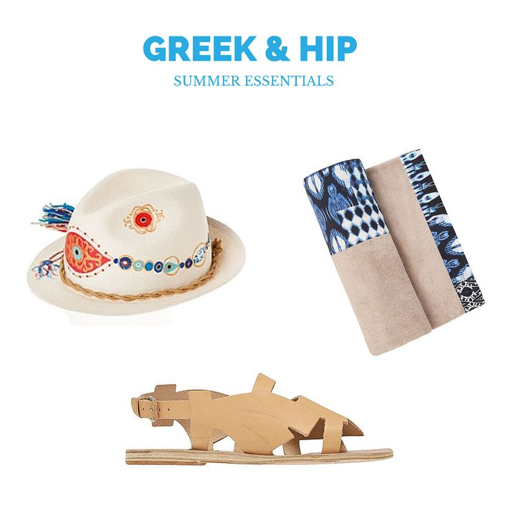 Fashion | Greek and Hip Summer Essentials