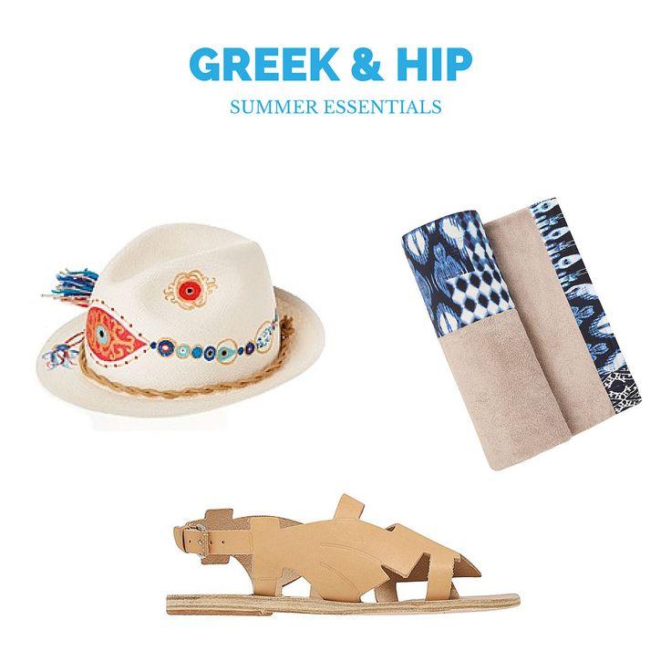 Fashion | Greek and Hip Summer Essentials