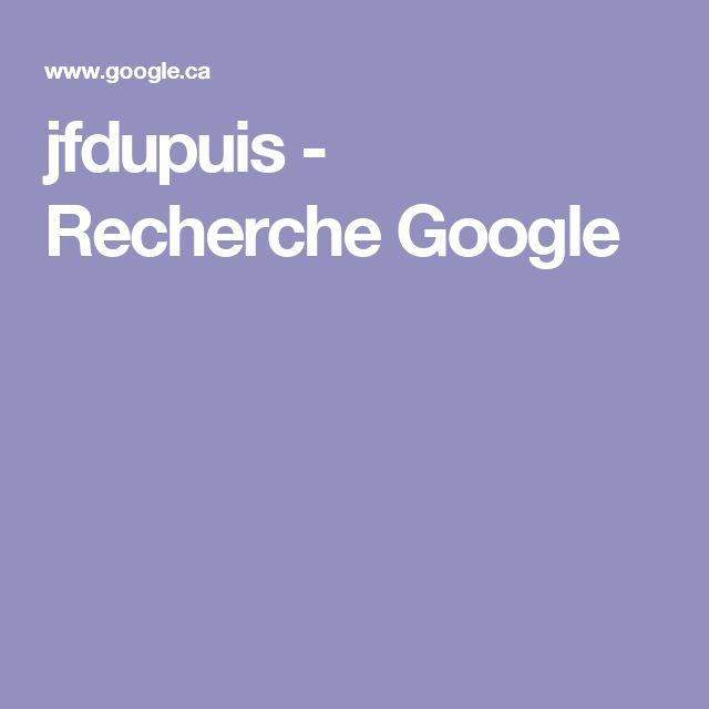 jfdupuis - Recherche Google