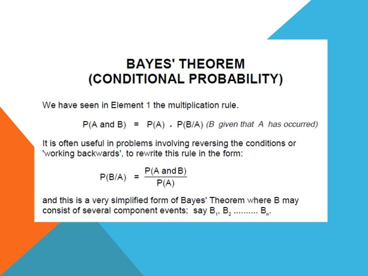 25+ best ideas about Bayes' rule on Pinterest | Bayes' theorem ...