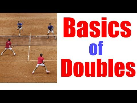 TENNIS DOUBLES | How To Play As A Tennis Team In Doubles - YouTube