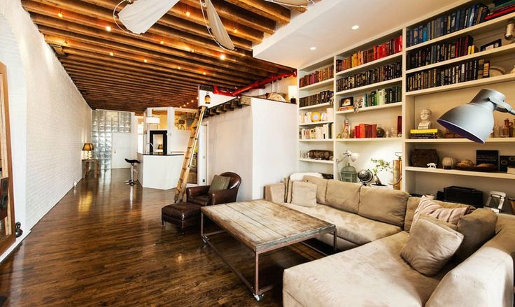 25 Modern Interiors with Exposed Ceiling Beams | http://www.designrulz.com/design/2015/07/modern-interiors-with-exposed-ceiling-beams/