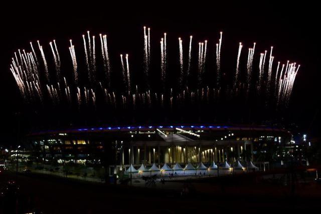 O espetáculo é aqui: como será a cerimônia de abertura da Olimpíada 2016 TASSO MARCELO/AFP/AFP
