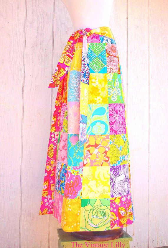 0e813723d vintage Lilly Pulitzer maxi skirt... I still wear mine. It reverses to lime  and turquoise underwater scene | ELEGAMMENT CLASSIQUE ET CHIC | Lilly  pulitzer, ...