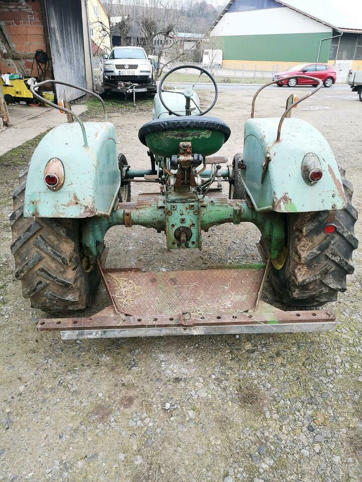 MAN Traktor fahrbereit mit Papiere in Bayern Ansbach