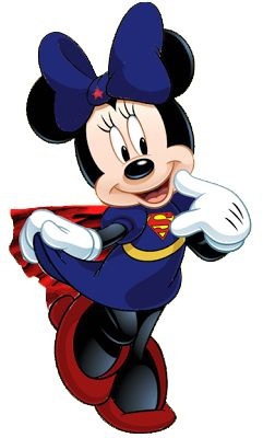 Super Minnie Mouse!