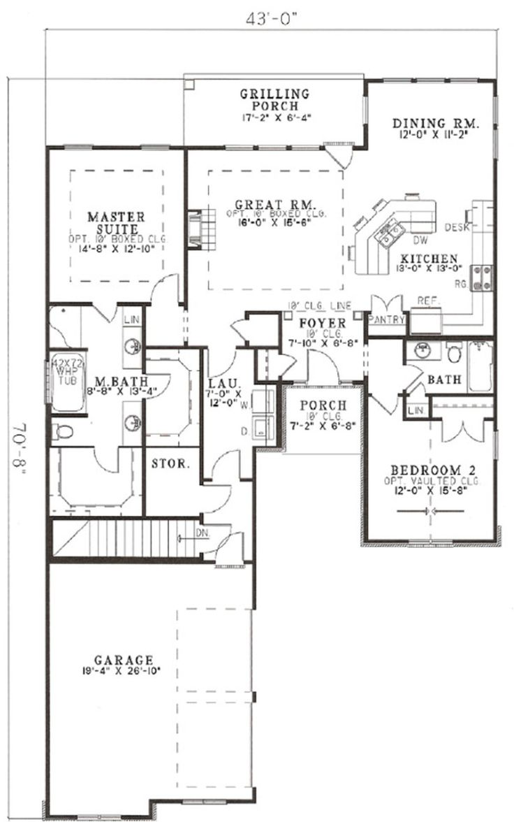 73 best smaller dream homes images on pinterest house floor this european design floor plan is 1474 sq ft and has 2 bedrooms and has bathrooms jameslax Gallery