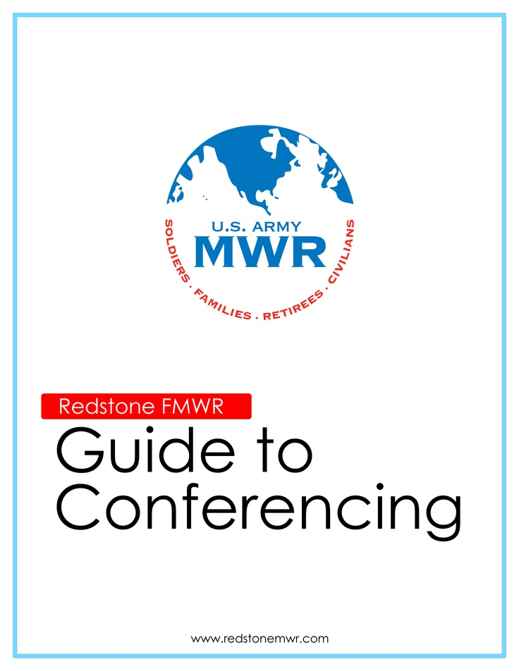 Front Cover to The MWR Guide to Conferencing
