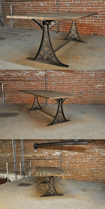 Quatre Dining Table By Vintage Industrial Furniture In Phoenix, AZ | Vintage  Industrial Furniture Design | Pinterest | Vintage Industrial, ...