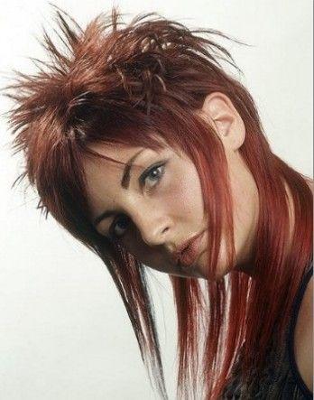 Punk rock hairstyles for women long hair