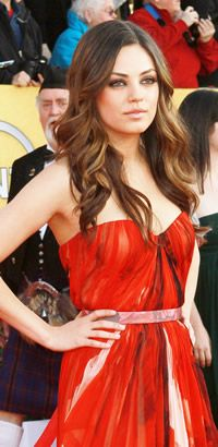 Beautiful Blow Outs: Ask for Mila Kunis' wavy Hairstyle at your next blow out.