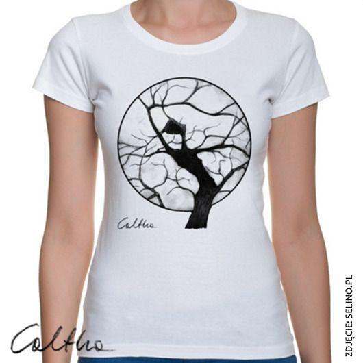 bluzki - t-shirty - damskie-Drzewo - t-shirt (różne kolory i rozmiary)