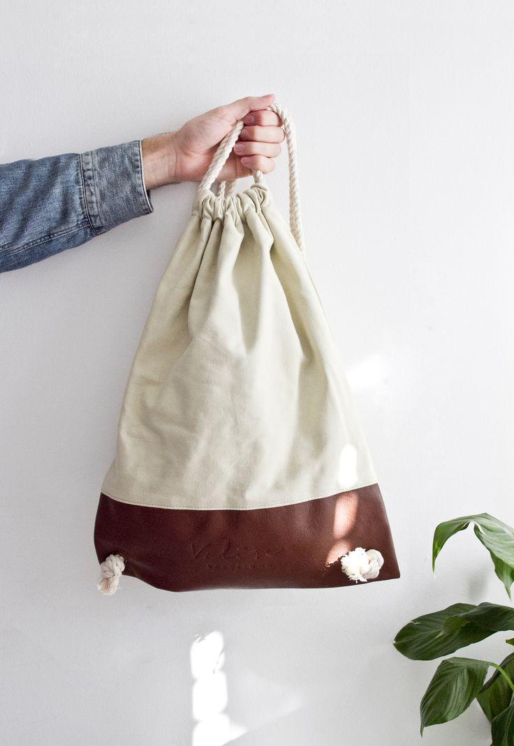 Valise beige & marrón. #bagpack #barcelona #valisebags #valisebarcelona