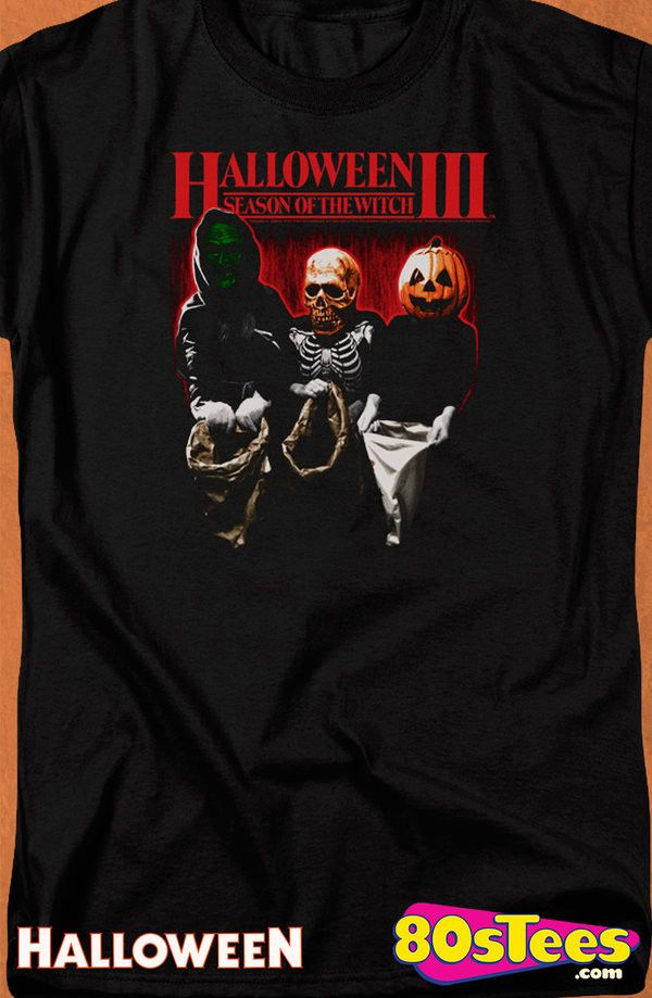 Halloween III Season of the Witch T-Shirt: Halloween Mens T-Shirt An artistic design illustrating the Season of the Witch film, Halloween III.  This shirt is great to wear to a film, listening to music or reading a book.