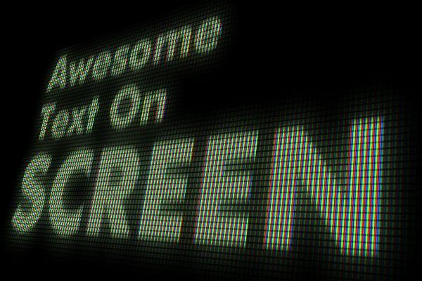 editable screen shot text effect