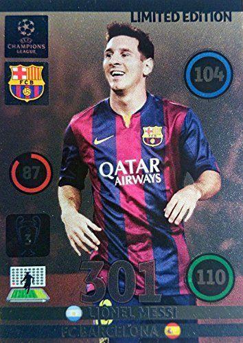 Messi Fifa 14 Card Champions League Adren...