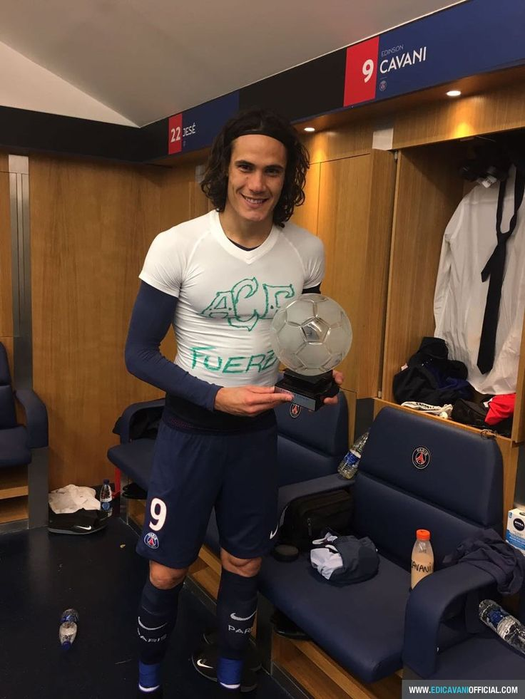 100 goals for Cavani! – My Heart Beats Football
