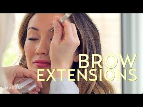 The Best Eyebrow Extensions in Los Angeles | The SASS with Susan and Sharzad - YouTube