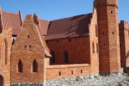 Ruiny zamku biskupiego w Prabutach