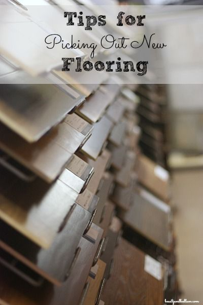 There are so many choices when picking new floors. How does anyone narrow down the choices? Here are some questions to ask yourself.