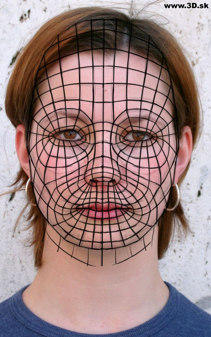 Female Face Topology