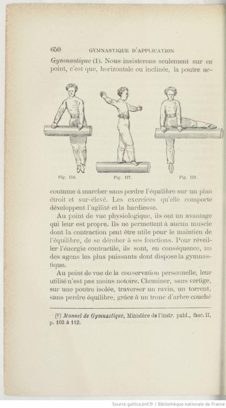 La gymnastique notions physiologiques et pédagogiques