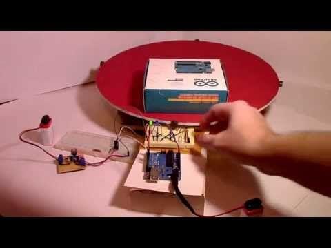 "Arduino Controlled ""Turntable""    Arduino + Hall Effect Sensor + ""turntable"" - YouTube"