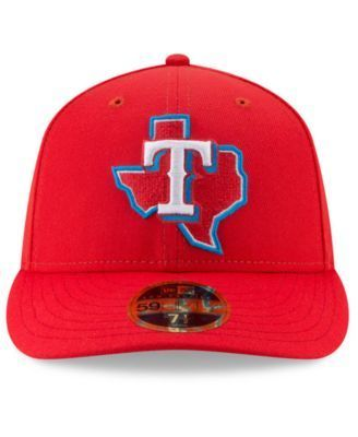 New Era Texas Rangers Little League Classic Low Profile 59FIFTY Fitted Cap - Red 7 1/2