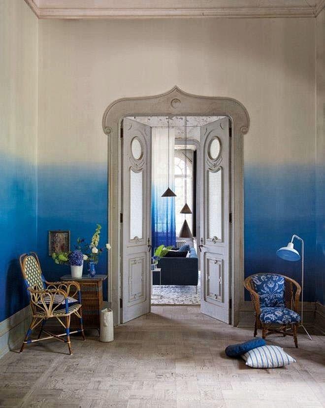 Méchant Studio Blog: tie and dye walls