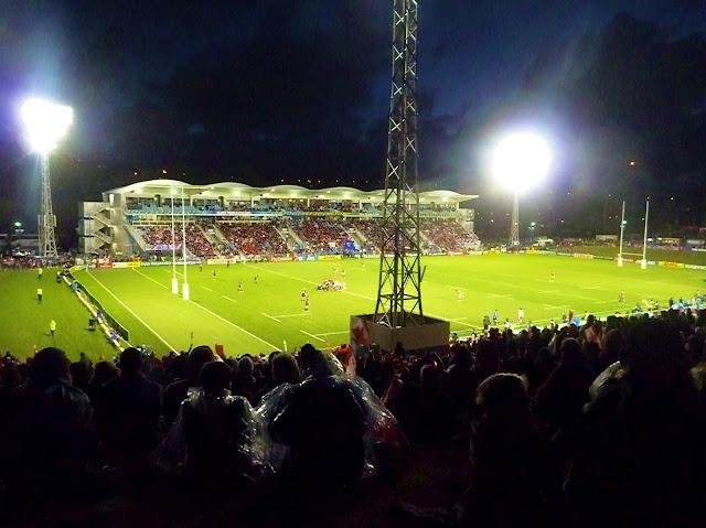 Illuminating Rugby World Cup 2011 at Toll Stadium in Whangarei